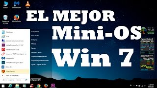 El Mejor Windows 7 Mini OS [ISO] [Actualizado Abril 2018 ] Via MEGA 1 Link