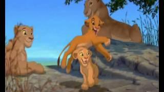 Il Re Leone- Simba & Nala, scena del bagno. Fandub