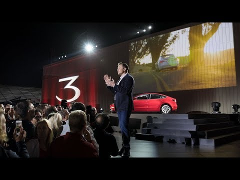 First Model 3 Handovers