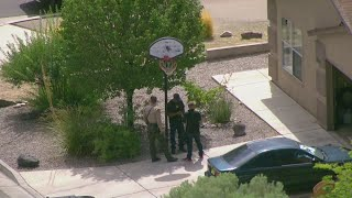 Suspect in custody after barricading himself in a SW Albuquerque home