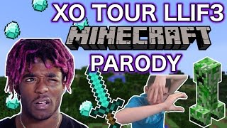 "LIL UZI - ""XO TOUR LIFE"" MINECRAFT PARODY"