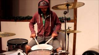 Hold On We're Goin Home-Pia Mia (drum cover)