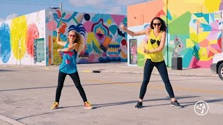 "Chino y Nacho - ""Andas En Mi Cabeza"" / Zumba® choreo by Alix w/ Fanny [BLOCKED ON MOBILE]"