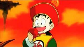 Gohan gets drunk....... Because of an apple XD