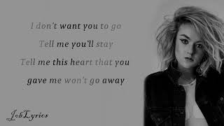 Grace Davies - Don't Go [Lyrics]
