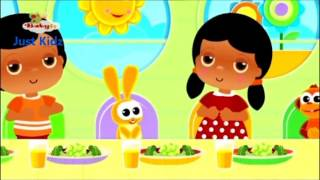 what a wonderful day -  lunch time Baby TV English UK