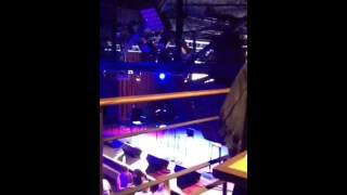 Collabro preshow NYC Highline funny- we had cover on phone
