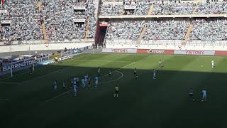 Desde el Nacional. Sporting Cristal vs Alianza Lima. 2da final (1 - 0) Jorge Cazulo.