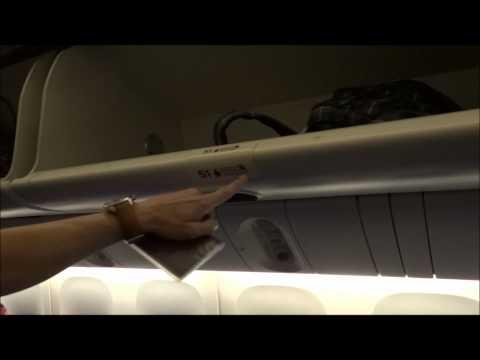 Remy & Rene in Singapore en Nepal 2012: In het vliegtuig