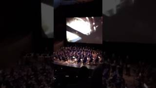 Game of thrones season 7 premier had a live orchestra for the opening. Game of thrones theme song.