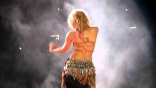 Shakira - Ojos asi (live in Puerto Rico 14-10-11)