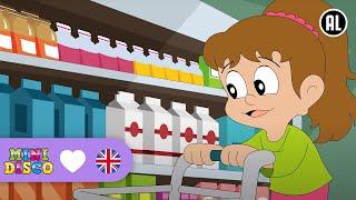 Supermarket | Children's songs | Nursery rhymes | Kids dance songs by Minidisco