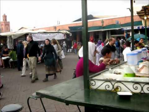 2011 – 4 – A walk through downtown Marrakech
