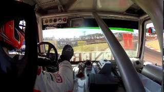 Acidente Jansen Bueno em Cascavel - Câmera Onbord