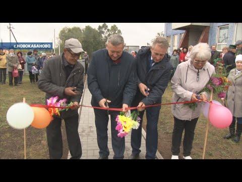 Глава встретился с жителями Новокабаново и Кузгово