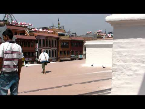 SANY0729.MP4 BoudhaNath Stupa Movie