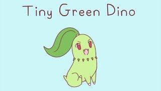 Tiny Green Dino