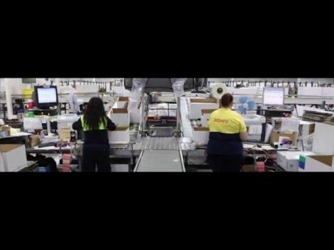 Vídeo de la planta logística de Adveo en Tres Cantos (Madrid)