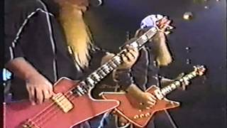 ZZ TOP Sweden TV 1983 3 Party on the Patio