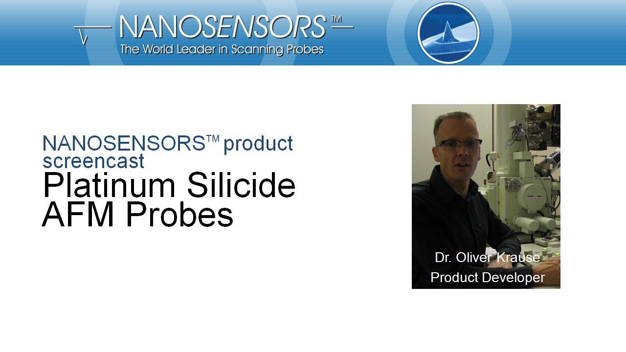 NANOSENSORS™ Platinum Silicide AFM Probes thumb