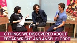 """Edgar Wright and Ansel Elgort Talk """"Baby Driver"""""""