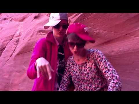Tebe Povezlo in Antelope Canyon