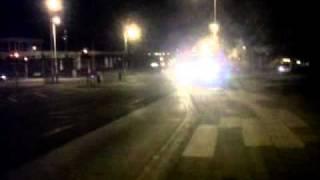 Merseyside Police Responding, Charing Cross Birkenhead, blues and twos, siren