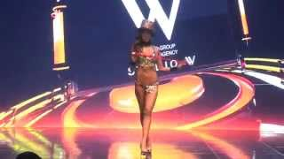 Musclemania Fitness Korea Sports Model Bikini Competition Body Profile Video 비키니 예선 트레이너 박연수 선수