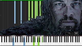 Main Theme - The Revenant [Piano Tutorial] (Synthesia) // David Kaylor