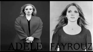 Adele & Fairouz ✪ kifk enta & hello ✪ remix