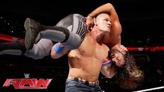 John Cena vs. Seth Rollins: Raw, June 27, 2016