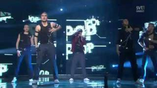 Melodifestivalen 2011 * WINNER * Eric Saade * Popular  (Sweden Eurovision 2011)