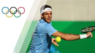Del Potro beats Nadal in an astonishing tennis semi-final