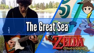 The Great Sea - Zelda: Wind Waker || Rock/Metal Cover by Christian Richardson