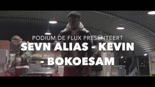Podium de Flux - Sevn Alias, Kevin, Bokoesam - 15 juli