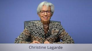 BCE: diretta streaming conferenza stampa Christine Lagarde