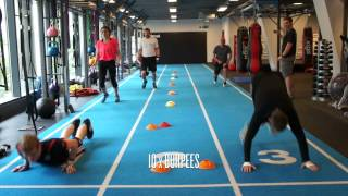 Scott Quigg tries Primal Gym's Fit Test