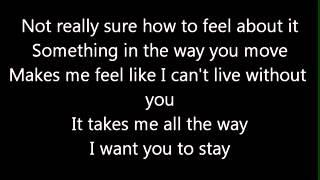 Rihanna Stay (Lycris)