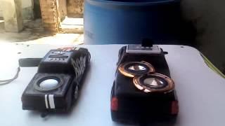 MINI L200 ROCK VS MINI MONTANA ROCK RACHA DE SOM