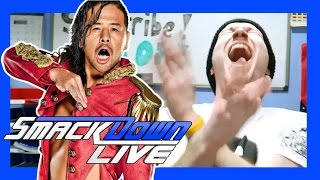 SHINSUKE NAKAMURA DEBUTS ON SMACKDOWN LIVE REACTION!!