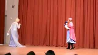 Por primera vez en años (reprise) - actuación Frozen en Expomanga 2014