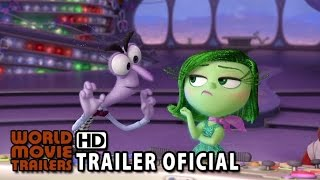 Divertida Mente Trailer Oficial Dublado (2015) - Disney Animação HD