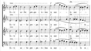 Ave Verum Corpus Saint-Saens Score
