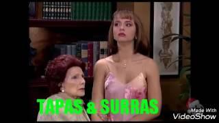A USURPADORA - Paulina dá um tapa na cara de Leda e Estephany