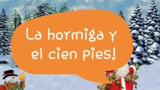 La Hormiga y el Cien Pies - canciones infantiles - niños