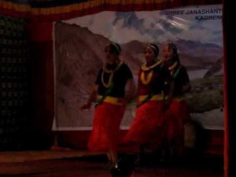 Dance performance at Kagbeni 1/ Nepali Trio Folk