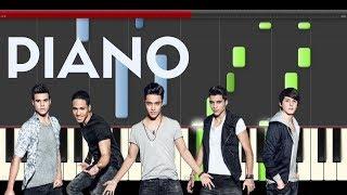 CNCO Mi Medicina Piano Midi tutorial Sheet app Cover Karaoke