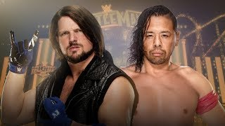 WWE Wrestlemania 34 (2018) Aj Styles vs Shinsuke Nakamura Promo(360p)