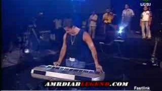 amrdiab playing piano marina 2004 ana ayesh