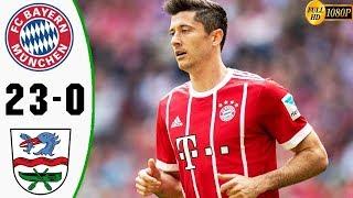Bayern Munich vs Rottach-Egern 23-0 All Goals & Highlights 08/08/2019 HD